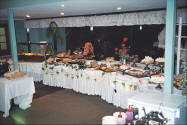 Photo of the buffet at The Gloucester Motel.