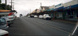 Main Street Photo of Pemberton Western Australia.
