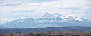Mount Katahdin.  Northernmost Appalachian Mountain.  Music from Near Millinocket. ME!  Incorporate in Maine!