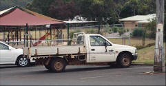 Photo of utility vehicle in Western Australia. UTE